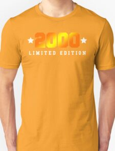 2000 Limited Edition Birthday Shirt T-Shirt