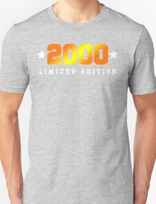 2000 Limited Edition Birthday Shirt T-Shirt