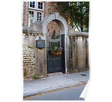 Gated Entry  Charleston SC Poster