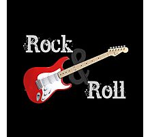 Rock & Roll Guitar Photographic Print