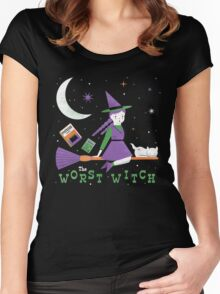 The Worst Witch Women's Fitted Scoop T-Shirt