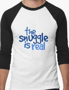The snuggle is real Men's Baseball ¾ T-Shirt
