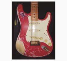 Red Guitar Kids Clothes