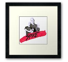 Spike (James Marsters) Framed Print