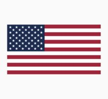 Historical Flags of the United States of America 1960 to Present US Flag With 50 Stars and 13 Stripes Baby Tee