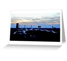 Shiny, Olympic Roof  Greeting Card