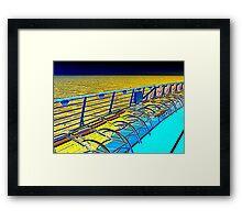 Aqua-3 Framed Print