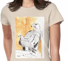 Black Eagle (Aquila verreauxii) Womens Fitted T-Shirt