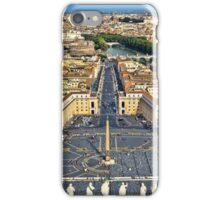 St Peter's Square iPhone Case/Skin