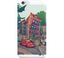 Rua Alfonso XIII iPhone Case/Skin