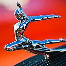 "1935 Pontiac Sedan ""Indian Maiden"" Hood Ornament 2 by Jill Reger"