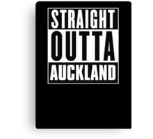 Straight outta Auckland! Canvas Print