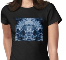 Abstract watercolor artwork Womens Fitted T-Shirt