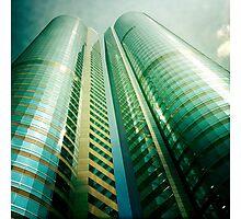 Exchange Square, Hong Kong Photographic Print