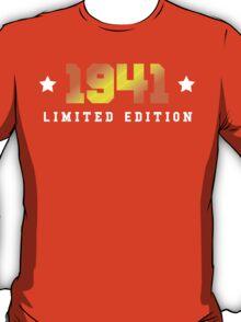 1941 Limited Edition Birthday Shirt T-Shirt