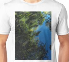 Darkness unfolds as stories are told of new beginnings..Things don't look so bright...Capsized your voyage of dreams..The moments of the past, forget tomorrow it brings anew.. Unisex T-Shirt