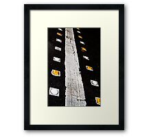 Crosswalk Framed Print