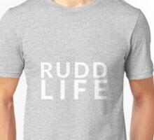 RUDD LIFE Paul Rudd - white text Unisex T-Shirt