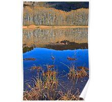 Autumn at Mirror Lake Poster