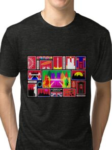 LONDON ENGLAND Tri-blend T-Shirt