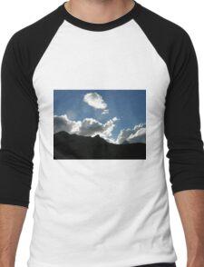 Queenstown Clouds Men's Baseball ¾ T-Shirt