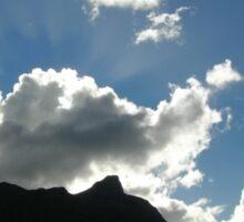 Queenstown Clouds Sticker