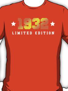 1936 Limited Edition Birthday Shirt T-Shirt
