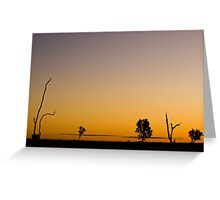 Outback Sky Greeting Card