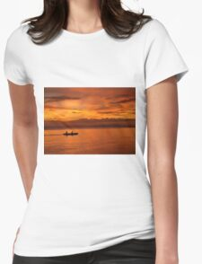 Philippine Sunset 1 Womens Fitted T-Shirt