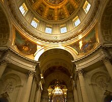 Eglise du dome - Army Museum (Musee de l'Armee) by Charuhas  Images