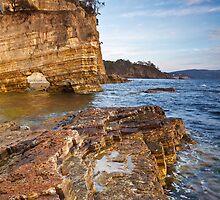 Fossil Cove, Tinderbox, Tasmania #2 by Chris Cobern