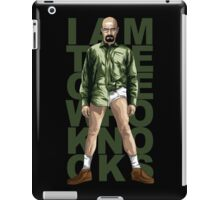 Walter Knocks iPad Case/Skin