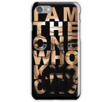 Walter White Knocks iPhone Case/Skin