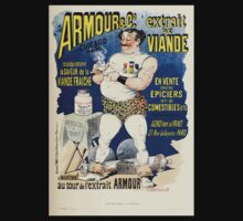 Les Affiches Illustrees 1886 1895 Ouvrage Orne de 64 Ernest Maindron Jules Cheret 1896 0175 Armour and Company Kids Tee