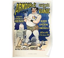 Les Affiches Illustrees 1886 1895 Ouvrage Orne de 64 Ernest Maindron Jules Cheret 1896 0175 Armour and Company Poster