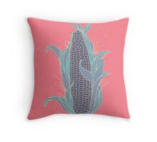 Corn Cob Throw Pillow