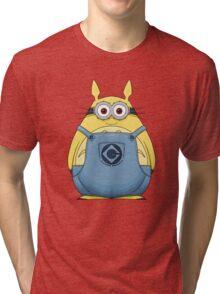 Minion Totoro Tri-blend T-Shirt