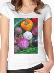 Food Women's Fitted Scoop T-Shirt