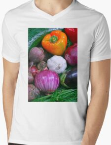 Food Mens V-Neck T-Shirt