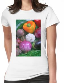 Food Womens Fitted T-Shirt