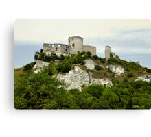 Chateau Galliard Canvas Print