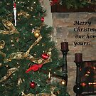 Merry Christmas From Our Home to Yours by DebbieCHayes