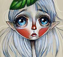 Elfling Study :: Leaf Head by Kristin Frenzel