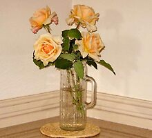 Roses in a Vase by Albert