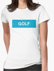 GOLF logo Womens Fitted T-Shirt
