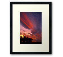 Paint Brush Framed Print