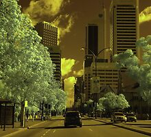 St Georges Tce, Perth, IR by BigAndRed