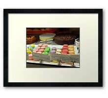 sweets any body? Framed Print
