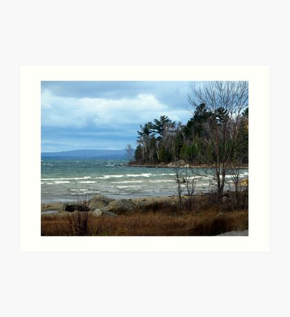 Just Past the Montreal Harbor area - Northern Ontario - Lake Superior Art Print