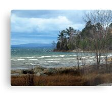 Just Past the Montreal Harbor area - Northern Ontario - Lake Superior Metal Print